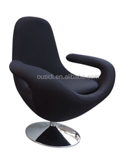 high back swivel armchair/round lounge chair(SY-D827-2#)