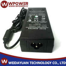 constant current led power supply 12v 5a plug power adapter for modem FCC UL CE KC SAA GS PSE