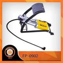 High pressure 11bar/160psi motor car and bicycle foot pump
