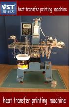 Heat transfer printing machine for plastic bucket,heat transfer printing machine use for bucket