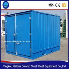 Cheap modern prefab house with sandwich panel best price, takeaway food container