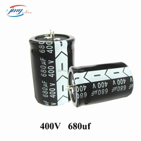 High Voltage 400V 820uF Aluminum Capacitor 820MFD for sale