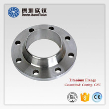 Titanium square tube tdc duct pipes puddle flange casting
