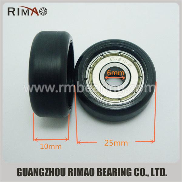 5-25-10mm small monowheel Polyurethane caster wheel for sliding door.jpg