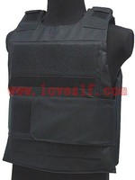 Black Down Body Armor Plate Carrier Vest Military Vest Combat Vest