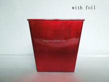 Square Plastic Material Hat Shape Flower Pots wholesale