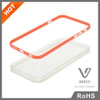 Detachable PC bumper + TPU Matte Soft Back Case For iphone 6 6s plus