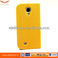 Leather Cell Phone Case For Samsung S4 Protective Case, cover for samsung galaxy s4 Factory