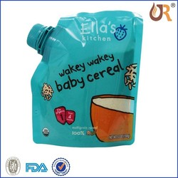 Customized Design Spout Pouch For Liquid Food Packaing