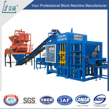 cellular lightweight flyash concrete block brick machine for myanmar