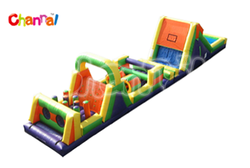 Giant Inflatable Obstacle Slide Combo