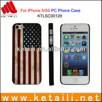 Hot New flag phone Case for iphone 5 China Manufacturer