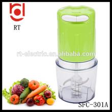 Aparatos de cocina food chopper plástico mini robot de cocina eléctrico