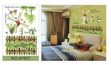 Winid Mill Removable Wall Sticker Home Decor Room