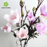 Guangzhou factory directly cheap silk magnolia flowers