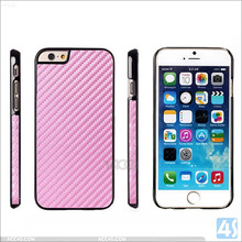 carbon fiber cell phone case for iPhone 6, high quality hard back cell phone case for iphone 6 4.7