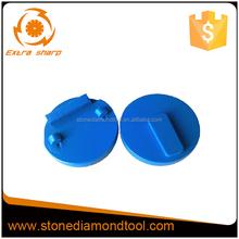Blue Pcd Round Stone Grinding Tools/ diamond pads With redi-lock