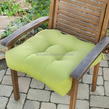 Polyester fabric waterproof chair outdoor cushion for wooden chairs