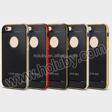 LOVE MEI Neo hybrid Aegis Detachable Anti-slip Design TPU+PC Bumper Hybrid back cover Case for iPhone 6 Plus 6S Plus 5.5 inch