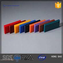 HONGBAO 15mm thick green hdpe (polyethylene )plastic plate for buffer strip