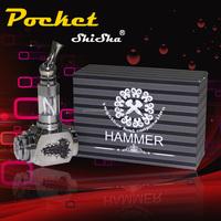 rechargeable electronic cigar hammer 2015 new design portable best electronic cigarette brand shisha hookah pen