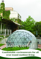 New design garden sun house with low price