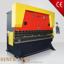 ANHUI SANLI Wf67y hydraulic press brake delem estun cnc nc plate sheet metal bending machine iron bar bend hydraulic folding