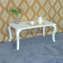 2015 china manufacturer brand new wood white different size coffee table