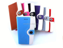 China Manufacturer Book style stand for motorola x3 back leather case provide sample