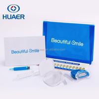 Non peroxide private label Premium mini led light teeth whitening Home Kit