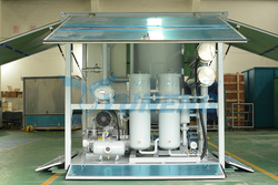 ZJA Series Transformer Oil Vacuum Purifier , Oil Degasification Machine , Oil Dehydration Plant