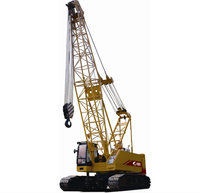 The Hositing and Foundation Machine of CQUY1500 Hydraulic Crawler Crane