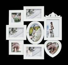 China supplier cheap photo pictures frame, new designs collage photo frame classic