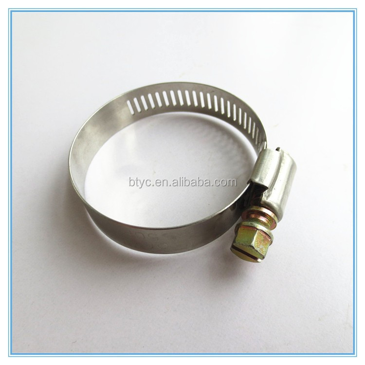 Stainless steel saddle clamp