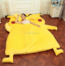 Big size floor bed with animal style and floor chair