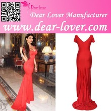 Low Neckline formal evening dresses for party