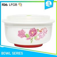 FDA & LFGB ceramic heat resistant cheap soup bowl
