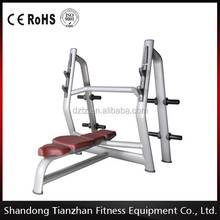 Lifting Equipment / Olympic Flat Bench TZ-6023 / Commercial Use Fitness Equipment