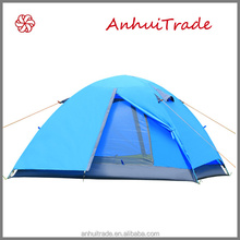 2 person double layer aluminum pole outdoor tent