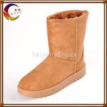 2012 top quality flat fashion cheap women vwinter shoes