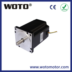Hybrid nema 34 step motor 3.0A 4.6nm 80mm length for cnc machine