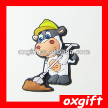 OXGIFT 3D Cartoon Soft Pvc Fridge Magnet