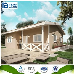 SGS Proved strong structure prefabricated fast construction houses