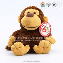 Cute cusotm made animal toys names plush monkey
