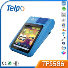 Telpo New Product Android 4.2 A9 Quad Core Handheld Pos with Printer TPS586
