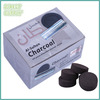 100 pieces 40mm bamboo shisha charcoal tablets