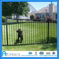 Aluminium residential fence school fence with factory prices