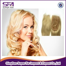 Hot sale 100% remy popular cheap human hair lace front closure