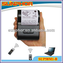 58mm Thermal Printer mini, with battery,Bluetooth or RS232(DB9 cable)