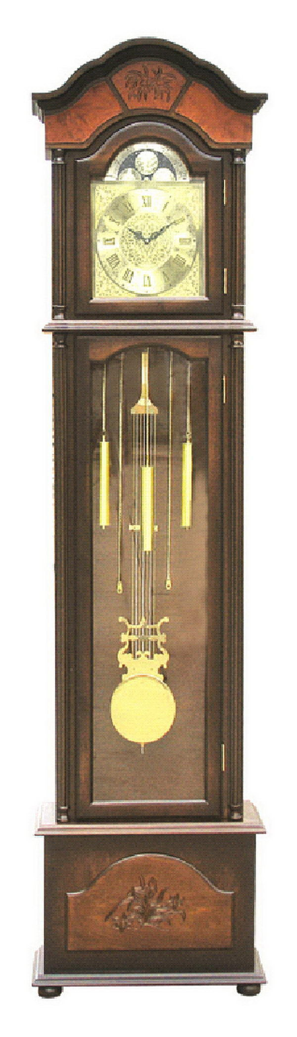 Special best selling carved wood grandfather clock buy